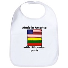 Made In America With Lithuanian Parts Bib