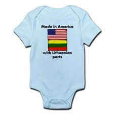 Made In America With Lithuanian Parts Body Suit