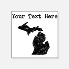 Michigan Silhouette (Custom) Sticker
