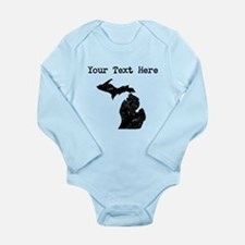 Michigan Silhouette (Custom) Body Suit