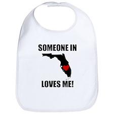 Someone In Florida Loves Me Bib