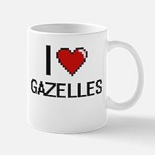 I love Gazelles Digital Design Mugs