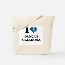 I love Duncan Oklahoma Tote Bag