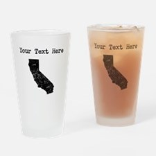 California Silhouette (Custom) Drinking Glass