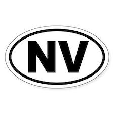 Basic Nevada Oval Decal