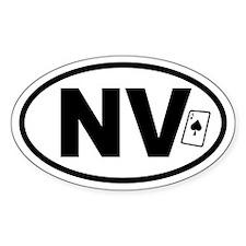 Nevada Ace Oval Decal