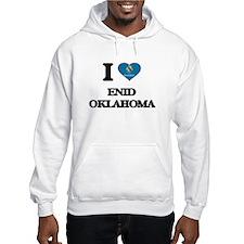 I love Enid Oklahoma Hoodie