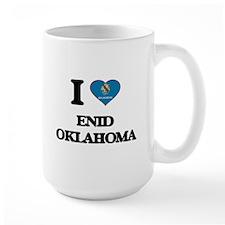 I love Enid Oklahoma Mugs