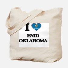 I love Enid Oklahoma Tote Bag