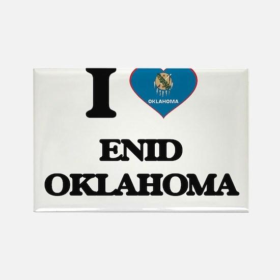 I love Enid Oklahoma Magnets