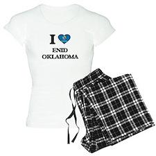 I love Enid Oklahoma Pajamas