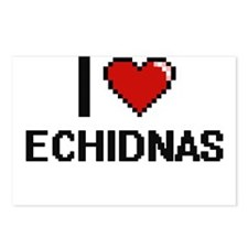 I love Echidnas Digital D Postcards (Package of 8)