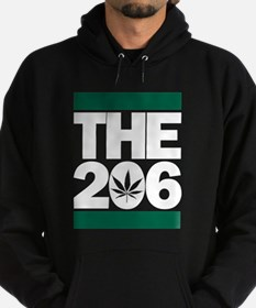 THE 206 - Legalized dark Hoodie
