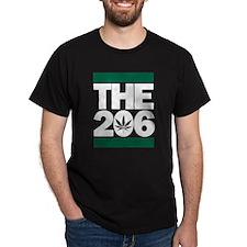 THE 206 - Legalized dark T-Shirt