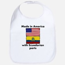 Made In America With Ecuadorian Parts Bib