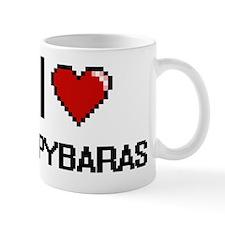 I love Capybaras Digital Design Mug