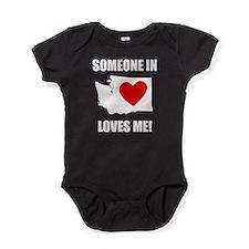 Someone In Washington Loves Me Baby Bodysuit