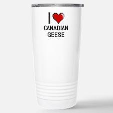 I love Canadian Geese D Travel Mug