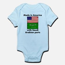 Made In America With Saudi Arabian Parts Body Suit