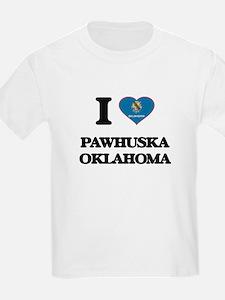 I love Pawhuska Oklahoma T-Shirt