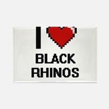 I love Black Rhinos Digital Design Magnets