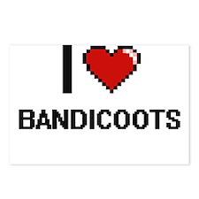 I love Bandicoots Digital Postcards (Package of 8)