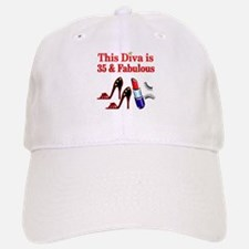 35TH PRIMA DONNA Baseball Baseball Cap