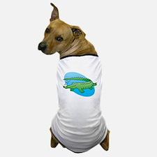 Cute Swimming Crocodile/Alligator Dog T-Shirt