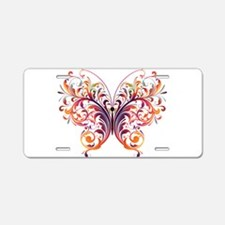 Fantasy Art Butterfly Aluminum License Plate