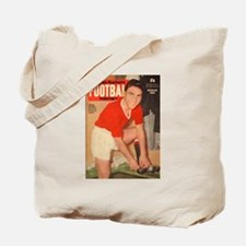 Duncan Edwards, Manchester United - March Tote Bag