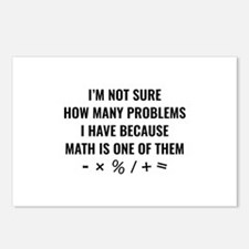 Math Is One Of Them Postcards (Package of 8)