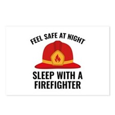 Sleep With A Firefighter Postcards (Package of 8)