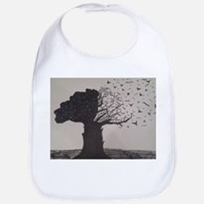 Freehand Drawn Artistic Tree Bib