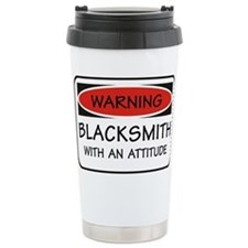 Cute Blacksmith Travel Mug