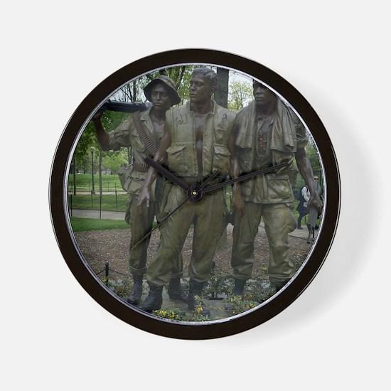 Washington DC war memorial Wall Clock