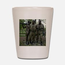 Washington DC war memorial Shot Glass