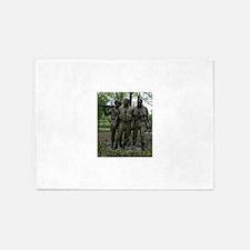 Washington DC war memorial 5'x7'Area Rug