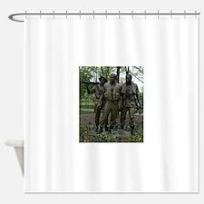 Washington DC war memorial Shower Curtain