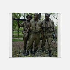 Washington DC war memorial Throw Blanket