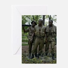 Washington DC war memorial Greeting Cards
