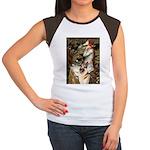 Ophelia / G-Shep Women's Cap Sleeve T-Shirt
