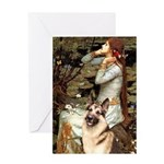 Ophelia / G-Shep Greeting Card