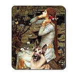Ophelia / G-Shep Mousepad