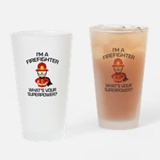 I'm A Firefighter Drinking Glass