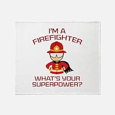 I'm A Firefighter Stadium Blanket