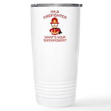 I'm A Firefighter Ceramic Travel Mug
