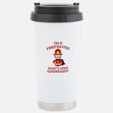 I'm A Firefighter Ceramic Travel Mug