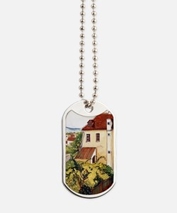 Suzanne Valadon - View of a Garden Dog Tags