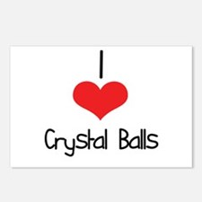 Crystal Balls Postcards (Package of 8)