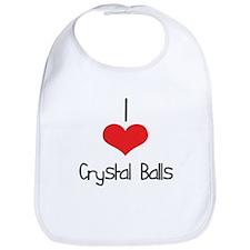 Crystal Balls Bib